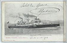 CARTOLINA 1906 MARINA ITALIANA R NAVE VARESE 530/A
