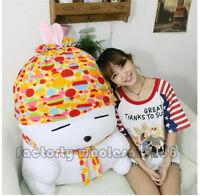 Hot 39'' Giant Mashimaro Plush Rabbit Doll Soft Stuffed Animal Toy Birthday Gift