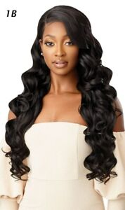 CHANDELL by OUTRE Melted Hairline HD Lace Front Synthetic Soft Swiss Lace Wig