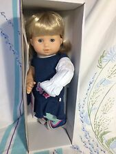 American Girl BITTY TWIN GIRL Doll 3G Blonde Hair Blue Eyes NEW Without Box Top