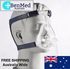 *BRAND NEW* DeVilbiss CPAP Full Face Mask & Headgear for Sleep Apnea - LARGE