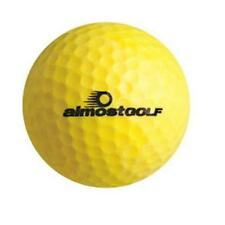 Almost Golf Limited Flight Balls (3 Ball Pack) -Yellow