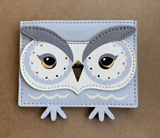 Kate Spade Star bright Night Owl Card holder Credit Card Case Mini Wallet NWT