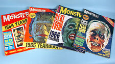 Famous Monsters of Filmland Magazine 3 Yearbooks 1964-1965-1966 + Fearbook 1969