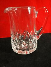 "Waterford Lismore Crystal 7"" Pitcher"