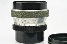WERRA: FLEKTOGON 2,8 / 35 mm GREEN, Carl Zeiss Jena + Caps , fully working, NICE