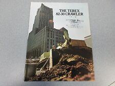 Terex 82-30 Crawler Literature