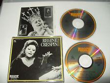 Regine Crespin Sur Scene 2 cd Box Set 20 tracks 1989 Excellent Condition Rare