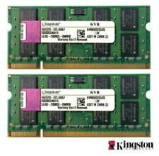 For Kingston 4GB 2x 2GB DDR2 800Mhz Laptop RAM PC2-6400 SoDIMM Notebook Memory