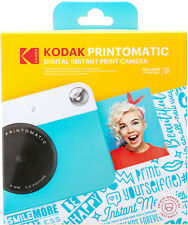 NEW Kodak PRINTOMATIC 10.0-Megapixel Digital Instant Print Camera Blue zink