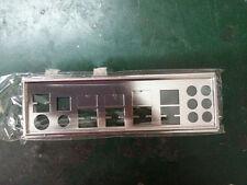 I/O IO GIGABYTE SHIELD BACKPLATE FOR GA-870A-USB3,GA-P55-UD3,GA-870-UD3P #G62 XH