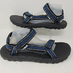 Teva Mens Storm Sport Sandals Blue Black Hiking Shoes Size 14
