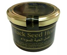 HONEY WITH BLACK SEED 300g REMEDY CURE HEALTH AND WELLBEING 100% Pure