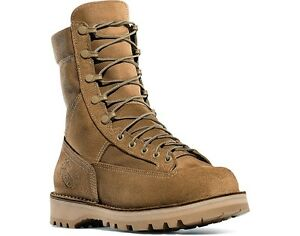 """NEW Danner Marine Hot Weather Desert Rough-Out Boots, 8"""", Mojave Leather/Nylon"""