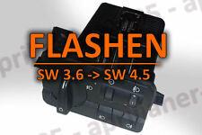 BMW 3er E46 FLASHEN vom LSZ Lichtschalter auf SW 4.5 LCM Codierung Flash MCU