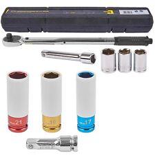 Drehmomentschlüssel automatisch 1/2 Zoll 40-200 Nm + Schon Stecknüsse 17 19 21mm