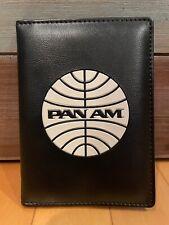 SDCC 2011 Disney ABC Pan Am Show Black Vinyl Retro Passport Cover Holder Wallet