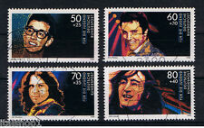 GERMANIA 4 FRANCOBOLLI PRO GIOVENTU MUSICA JUGEND 1988 usato