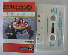 THE MAMAS AND THE PAPAS 16 ORIGINAL WORLD HITS AUSTRALIAN RELEASE CASSETTE TAPE