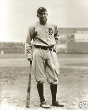 The Greatest Photo of Ty Cobb Detroit Tigers Navin Field Cobb With Baseball Bat