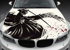 Manga Full Color Graphics Adhesive Vinyl Sticker Fit any Car Hood Bonnet #063