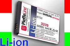 Batteria Li-ion 1200mAh per SAMSUNG gt B7722 DUOS
