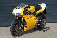 Ducati racing 748 916 996 998 Nummerntafel Front numberboard front goldene Linie