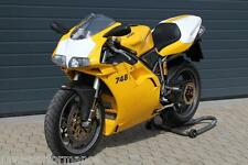 Ducati Racing 748 916 996 998 Numéros tableau Front numberboard ligne noire