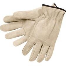 New Mens Size XL Split Leather Drivers Work Truck Driver Driving Work Gloves-