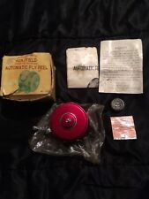 Vintage taico kentfield Automatic Fly Reel w/paperwork & tattered Box no.686