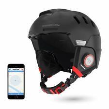 Open Box Swagtron Snowtide Bluetooth Ski Snowboard Helmet Audio SOS Alert Black
