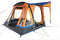 INFLATABLE CAMPERVAN DRIVE AWAY AWNING - OLPRO LOOPO BREEZE (ORANGE & BLACK)