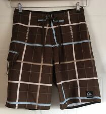 Mens Boys Quiksilver Board Shorts Size 28W