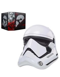 HALLOWEEN HELMET Star Wars The Black Series First Order Stormtrooper Electronic