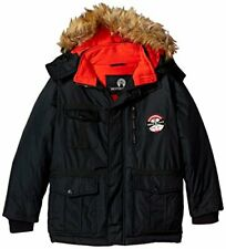 Weatherproof Big Boys' Outerwear Jacket (More Styles Available), Parka-Wf09-B.