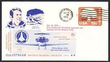 GULFSTREAM STA SPACE SHUTTLE TRAINING AIRCRAFT FLIGHT 10-29-1976 Space Cover