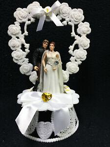 Star War Wedding Cake Topper Han Solo Princess Leia Anniversary Shower Groom top