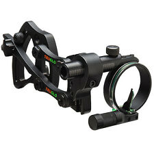 NEW@ TruGlo Archery Pendulum Bow Sight w/ Adjustable Bracket & FREE Light! TG701