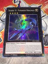 Carte Yu Gi Oh NUMERO 18 : PATRIARCHE HERALDIQUE WSUP-FR004 x 2