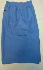 New 3XL Kam Blue Cargo Swim Shorts