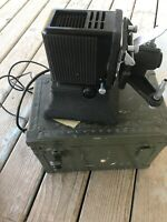 Kodak Recordak Portable Projector Model A with Case Vintage US Navy Equipment