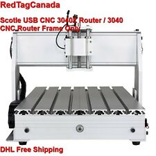 Scotle USB CNC 3040Z Router / 3040 CNC Router Frame (Frame Only) - DHL -2YRS WRY