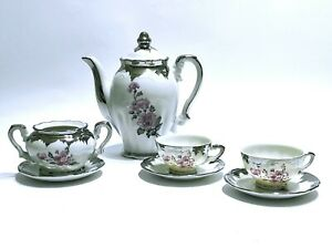 Servizio da caffè in ceramica di BAVARIA vintage anni 50 the