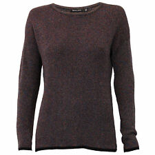 Ladies Jumper Brave Soul Womens Knitted Metallic Yarn Sweater Pullover Winter Black - 162rainbow Medium