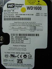 Western Digital WD1600JD-00HBB0 / DSCACTJAA / FEB 2005 / 2060-001267-001 REV A