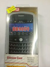 BlackBerry 9000 Bold Fitted Silicone Case Cover in White Brand New Original Pack