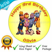 TWEENIES CAKE TOPPER BIRTHDAY CAKE PERSONALISED EDIBLE ROUND CAKE DECORATION