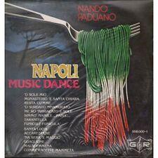 Nando Paduano Lp Vinile Napoli Music Dance / G R 5580001 Nuovo