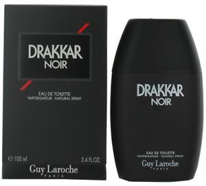 Drakkar Noir By Guy Laroche For Men EDT Cologne Spray 3.4oz New