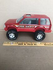 Vintage Nylint Pressed Steel Fire Rescue Ford Truck Pickup Truck